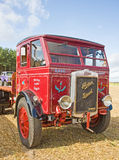 Vintage lorry at Roseisle vintage Rally. . Royalty Free Stock Image
