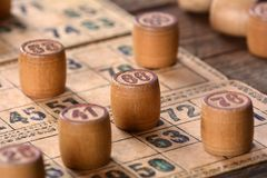 Vintage lotto Royalty Free Stock Photography