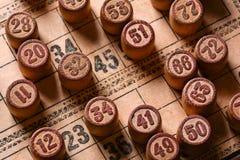 Vintage lotto Royalty Free Stock Photos