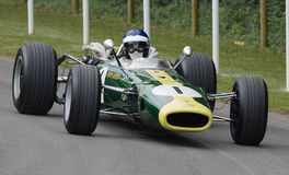 Vintage Lotus BRM 43 Formula 1 racing car. Royalty Free Stock Image