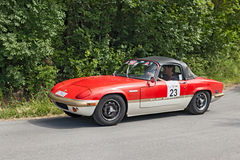 Vintage Lotus Elan Sprint (1971) Royalty Free Stock Image