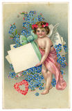 Vintage Love Greeting Card Stock Image