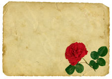 Vintage love letter Royalty Free Stock Photos