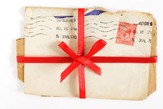 Vintage love letters Stock Photography