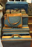 Vintage Luggage Collection Royalty Free Stock Photography