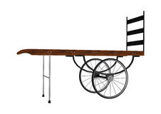 Vintage Luggage Hand Cart Stock Image