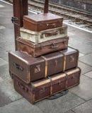 Vintage Luggage Royalty Free Stock Photos