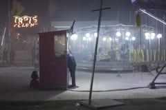 Vintage Luna Park imagem de stock