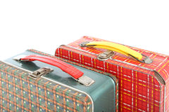 Vintage Lunch boxes Royalty Free Stock Image