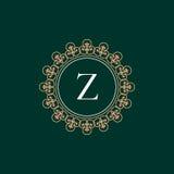 Vintage luxuoso do logotipo Imagens de Stock Royalty Free
