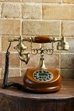 Vintage luxurious telephone old fashion Stock Images