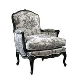 Vintage luxury armchair Stock Images