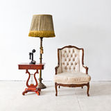 Vintage luxury armchair Royalty Free Stock Photography