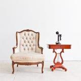 Vintage luxury armchair Stock Photography