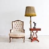Vintage luxury armchair Stock Photo