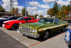 Vintage Luxury Car, Ford Ranchero stock photo