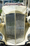 Vintage Luxury Car Grill Stock Photo
