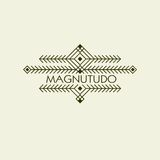 Vintage Luxury Ethnic Art Deco Monochrome Flourishes Monogram. Ornamental Emblem. Template logo. Hipster Style Stock Photos