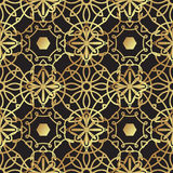 Vintage luxury gold background art deco Stock Image