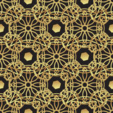 Vintage luxury gold background art deco Royalty Free Stock Photo