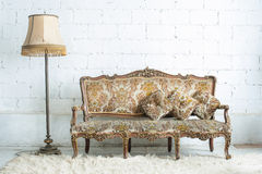 Vintage luxury sofa Royalty Free Stock Photography