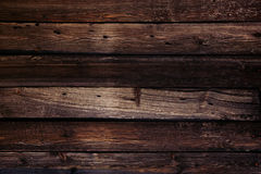Vintage luxury wooden background. Old brown boards. Texture. Stock Photography