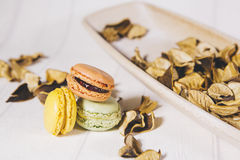 Vintage macaroons Royalty Free Stock Images