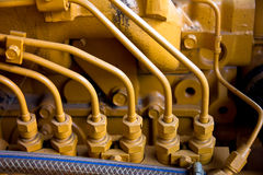 Vintage machine engine Stock Photography