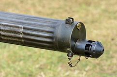Vintage machine gun Barrel Stock Photography