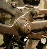 Vintage Machine Parts Stock Photo