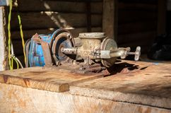 Vintage machinery Stock Photos