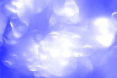 Vintage Magic background with blue bokeh. Royalty Free Stock Photography