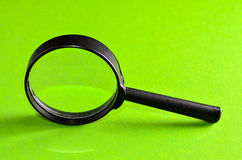Vintage Magnify Glass Loupe Royalty Free Stock Image