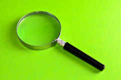 Vintage Magnify Glass Loupe Stock Photo