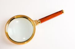 Vintage Magnify Glass Loupe Royalty Free Stock Images