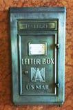 Vintage mail box Royalty Free Stock Image