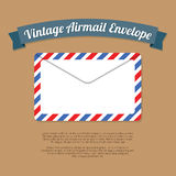 Vintage Mail Envelope Stock Images