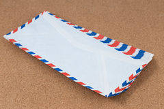Vintage mail envelopes Royalty Free Stock Photography