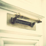 Vintage Mail Slot Royalty Free Stock Images