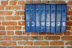 Vintage mailbox Stock Photography