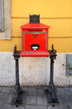 Vintage mailbox in Budapest Stock Photography