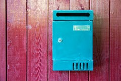 Vintage mailbox Royalty Free Stock Photos