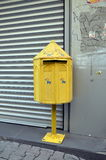 Vintage mailbox in Istanbul Stock Images