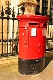 Vintage mailbox. In London, UK Royalty Free Stock Image