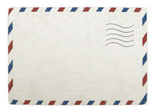 Vintage mailing envelope. Stock Images