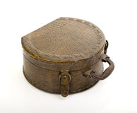 Vintage makeup suitcase Royalty Free Stock Images