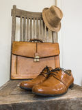 Vintage male cloth fashion. Royalty Free Stock Image