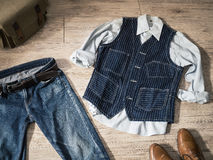 Vintage male clothing Royalty Free Stock Photo
