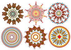 Vintage mandala design elements Royalty Free Stock Image