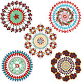 Vintage mandala design elements Stock Photo